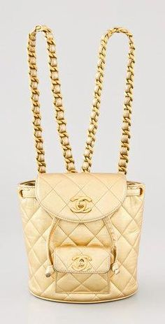 539974881a44ca Shop for Vintage Chanel Quilted Mini Backpack by WGACA at ShopStyle.