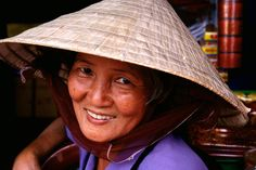 1e20ce99be1 Vietnamese woman wearing traditional hat...i bought one in Ho Chi Minh City