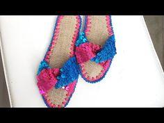 Pullu terlik yapımı - YouTube Crochet Earrings Pattern, Crochet Necklace, Crochet Shoes, Crochet Videos, Diy Bags, Crocheting, Model, Jewelry, Youtube