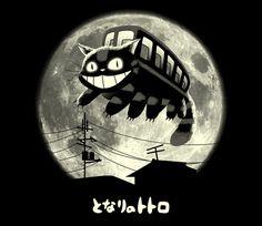 Cat Jump   Cat Bus   My Neighbor Totora   Studio Ghibli   TeeFury