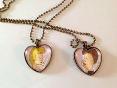 Bevis and Butthead Best friends necklace on Etsy, $16.00 hmmm Amber Steelman...