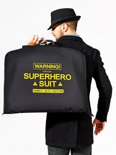 SUPER SUIT CARRIER from 24Dientes   Made By 24DIENTES   £24.00   BOUF