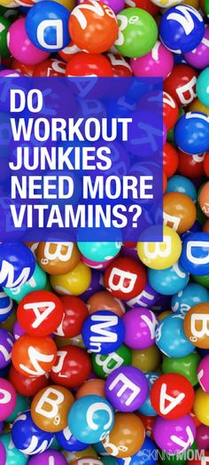 Are you a workout junkie? Read to find out if you need to be taking more vitamins.