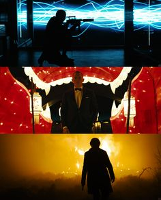 Skyfall, a remarkable way of using the colour spectrum. SF