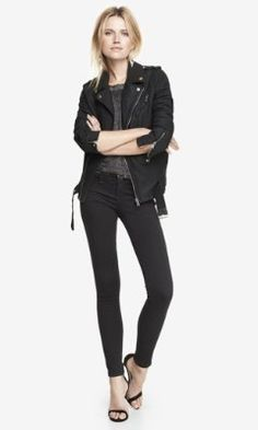 LOW RISE EXTREME STRETCH JEAN LEGGING from EXPRESS