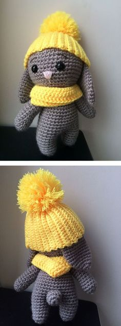 Adorable bunny - free crochet pattern