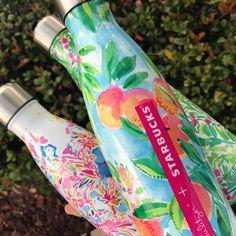 S'well Starbucks® + Lilly Pulitzer bottles