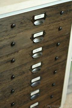 File Cabinet Turned Faux Specimen Cabinet | Hometalk