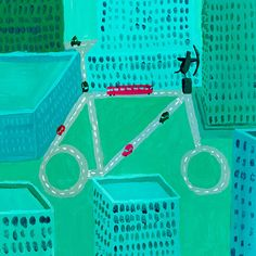 Credit: London Transport Museum 2nd runner-up: Cycling City by Harry Sankey