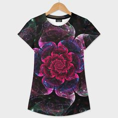 Discover «Rose Galaxy», Exclusive Edition Women's All Over T-Shirt by Diana  Coatu - From $44 - Curioos