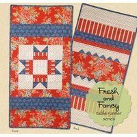 Fresh and Fancy Table Runner July by Cotton Way Collection. $8.00. Fresh and Fancy Table Runner July - Cotton Way Collection