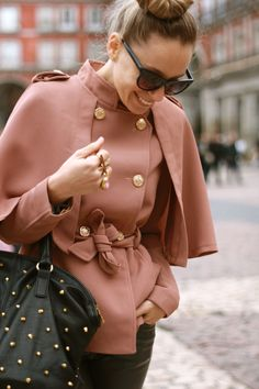 Love the style and color of this coat