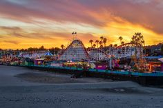 Santa Cruz Boardwalk, California  @emiliapaul56 Remember waking up to the fire alarm at the hotel at 5 am? Then we walked to the boardwalk and found seashells at the beach.