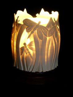 Sian Thomas - ceramic light
