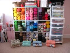 keep yarn organized