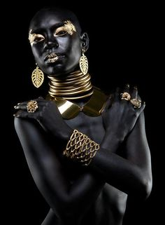The model, jewelry, and photography are BLATANTLY Spectacular!