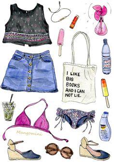 What i wore today in drawings – Cindy Mangomini Fashion Design Drawings, Fashion Sketches, Glamour Moda, Vide Dressing, Fashion Art, Womens Fashion, Drawing Clothes, Designs To Draw, What I Wore