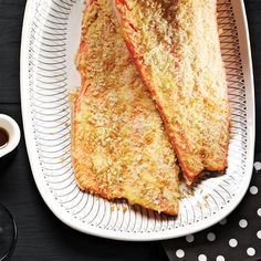 Crispy Oven-Baked Trout This simple, healthy, oven-baked recipe for trout was a reader idea—we love it and think you will too. - Crispy Oven-Baked Trout Recipe - Today's Parent--phase four with a little change here and there for phase 1 Trout Recipes Oven, Trout Fillet Recipes, Fish Recipes, Seafood Recipes, Cooking Recipes, Cookbook Recipes, Salmon Recipes, Lake Trout Recipes, Gourmet