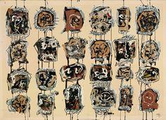24 cabezas - Museo Guggenheim Bilbao