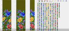 Узоры для вязаных жгутиков-шнуриков 15 | biser.info - всё о бисере и бисерном…