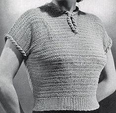 Knitting Ideas, Knitting Patterns Free, Knit Patterns, Vintage Patterns, Free Knitting, 1930s Fashion, Cardigans, Sweaters, Vintage Knitting