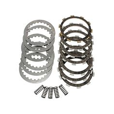 Complete Clutch Kit Friction Steel Plates Springs for Yamaha Blaster 200 YFS200 1988-2006:   Compatibility:/b/p 1988-2006 Yamaha YFS 200 U/W/A/B/D/E/F/G/H/J/K/L/M/N/P/R/S/T/V Blaster  br /