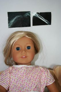 Arts and Crafts for your American Girl Doll: X-Ray pictures for American Girl Doll