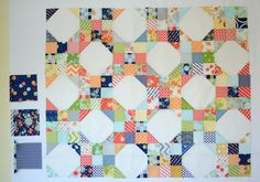 Hyacinth Quilt Designs: Nine-Patch/Snowball Quilt Tutorial