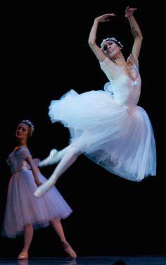 "Erica Cornejo performs ""Les Sylphide"" during the Boston Ballet's show ""Simply Sublime"" at the Boston Opera House."