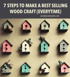 9 easy wood craft ideas that sell boredom intolerant pinterest