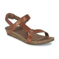 Sandales+et+Nu-pieds+Teva+YSIDRO+UNIVERSAL+-+METALLIC+Marron+79.99+€
