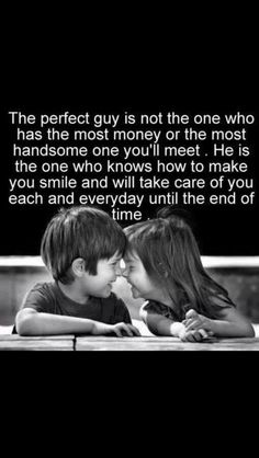Nothing compares to a perfect love.  Be patient and wait for the right one.  You WILL KNOW!