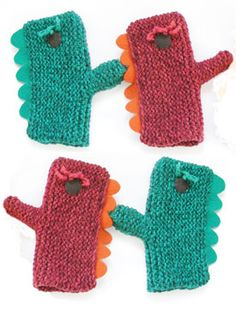 These Puppet Mitts are dino-mite!