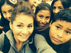 Brenda Price in Peru with Compassion International loving on some lil' angels! :)