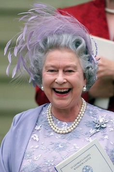 Queen Elizabeth II ~ One of her best photo's!