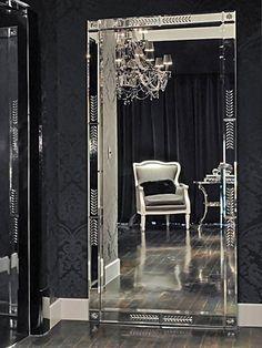 Duchamps Storage Mirror   Pinterest   Storage Mirror, Silver Paint And  Mirror Set