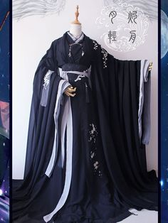 Fashion Mode, Asian Fashion, Beautiful Outfits, Cool Outfits, Mode Kimono, Medieval Dress, Chinese Clothing, Fantasy Dress, Japanese Outfits
