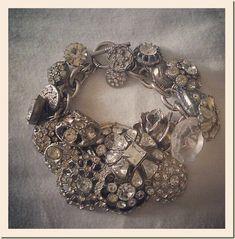 Gorgeous button bracelet by Lisa Johnson