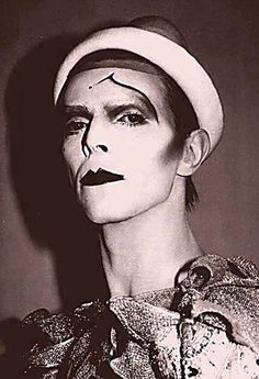 David Bowie as Pierrot