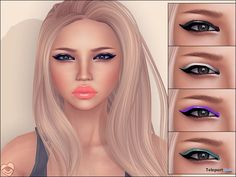 Winged Eyeshadows by TILLY