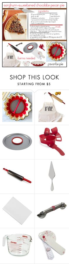"""""""Favorite Pie'"""" by dianefantasy ❤ liked on Polyvore featuring interior, interiors, interior design, home, home decor, interior decorating, The Coin Laundry, Chicago Metallic, KitchenAid and Villeroy & Boch"""