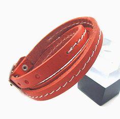 Fashion bracelet leather bracelet women by braceletbanglecase, $7.00