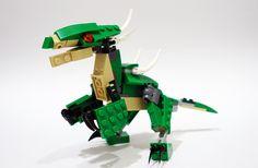 dino501 | Creator set 31058: Mighty Dinosaurs alt moc :D 5th… | Flickr Lego Dinosaurus, Lego Jurassic Park, Modele Lego, Lego Dragon, Lego Universe, Lego Creator Sets, Lego Animals, Lego Craft, Lego Mecha