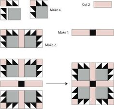 Bear Claw Quilt Block Pattern | Make the Bear's Paw Quilt Block