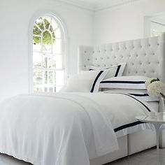 White Company Montebello bed linen