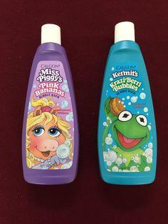 Vintage Unused 1990 Muppets Kermit The Frog Miss Piggy Bubble Bath   eBay