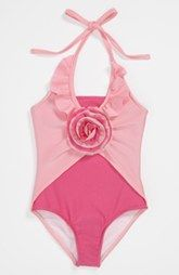 Love U Lots One Piece Swimsuit (Toddler, Little Girls & Big Girls)