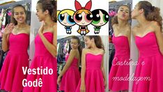 Vestido Godê Meninas super poderosas Alana Santos Blogger