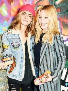 Margot and Cara / Friendship goals