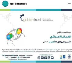 I will be delivering this program @goldentrust